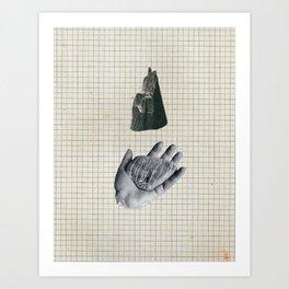 Holding Art Print