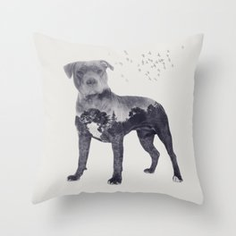 American Staffordshire Terrier - Amstaff Throw Pillow