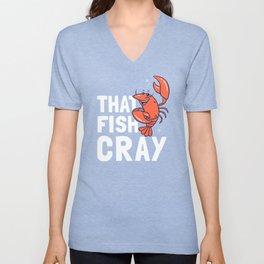 That Fish Cray Unisex V-Neck