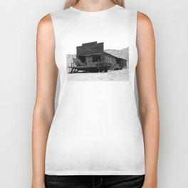 Old Butte Mining Camp in Randsburg, California Biker Tank
