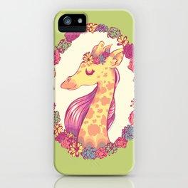 Lovely Giraffe 2 iPhone Case
