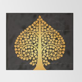 Bodhi Tree0205 Throw Blanket