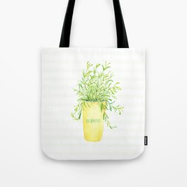 Radiant Rosemary Tote Bag