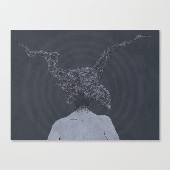 Saturnine Canvas Print