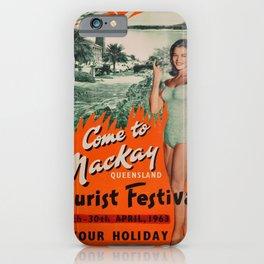 Nostalgic Mackay Queensland iPhone Case