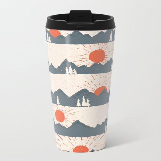 Sunrises... Sunsets... Metal Travel Mug