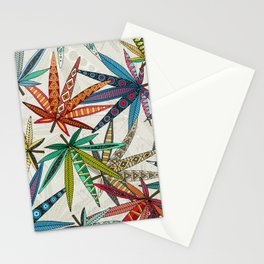 boho weed light Stationery Cards