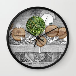 Duerer Last Communion Collage Wall Clock
