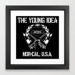 The Young Idea - NorCal Emblem Framed Art Print