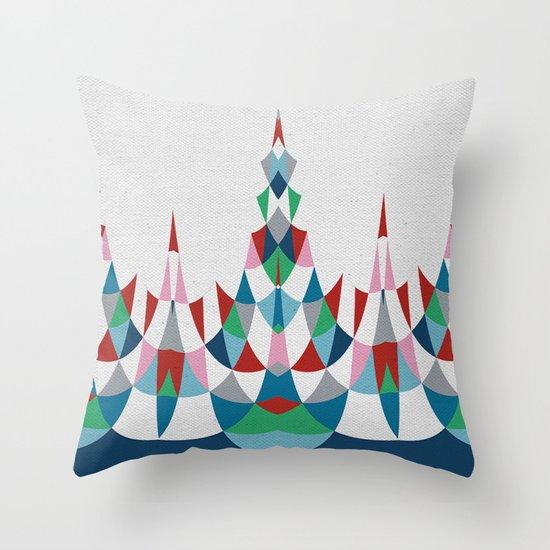 Modern Day #4 Throw Pillow