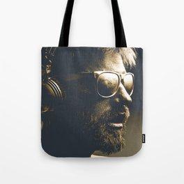 Painting man Tote Bag