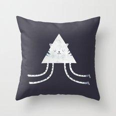 Emily's Kitty Throw Pillow