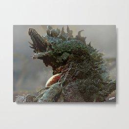 Biollante Metal Print