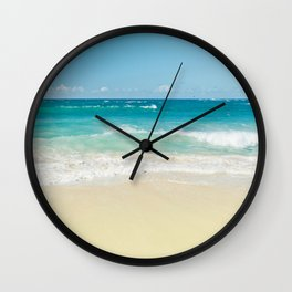 Beach Love Wall Clock