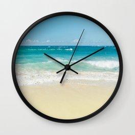 Beach Love Wall Clock
