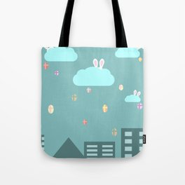 Easter town Tote Bag