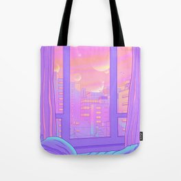 Shinjuku Summer View Tote Bag