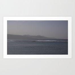Canarian coast Art Print