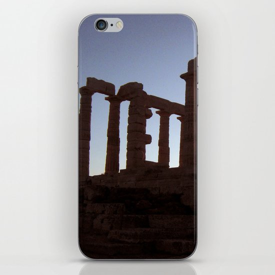 Temple of Poseidon iPhone & iPod Skin
