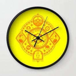 Armorial Wall Clock