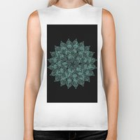 emerald Biker Tanks featuring emerald by Sproot