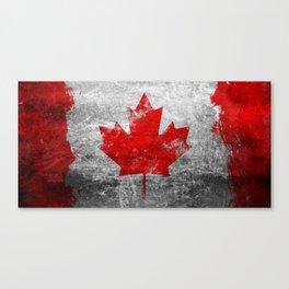 Canada Flag Canvas Print