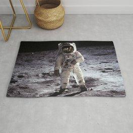 Apollo 11 - Iconic Buzz Aldrin On The Moon Rug