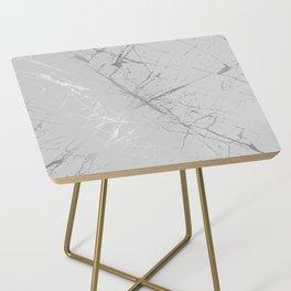Silver Splatter 089 Side Table