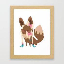Sylveon Framed Art Print