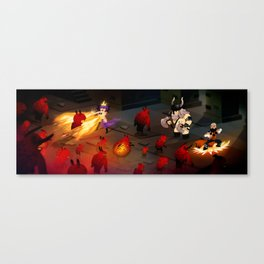 Cute Dungeon Crawling Canvas Print
