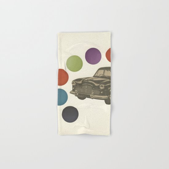 Driving Around in Circles Hand & Bath Towel