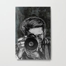 Wideangle SLR Shooter Metal Print