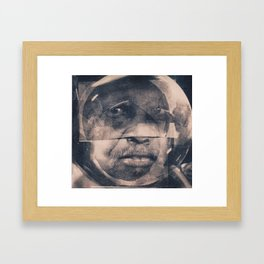 The Manner of Speaking; Sub-Saharan Diasporic Core Sample Framed Art Print