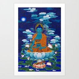 Medicine Buddha Art Print