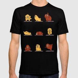 Chow Chow Yoga T-shirt