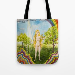 The Temptation of Eve Tote Bag