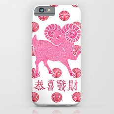 ~ Happy Chinese New Year ~ Year Of The Sheep ~ Slim Case iPhone 6s