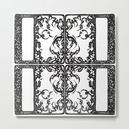 Way Within Window Metal Print