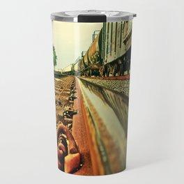 Train Track Travel Mug
