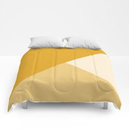 Mustard Tones Comforters