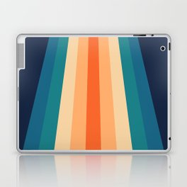 Retro Classic 70's Stripes Laptop & iPad Skin