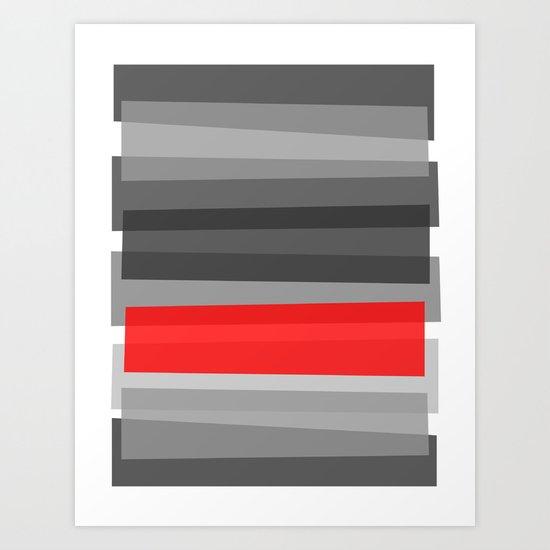 Cherry NOIR Art Print