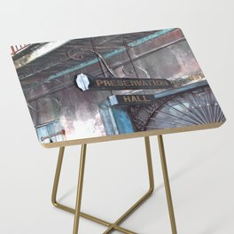 A Music Haven: Preservation Hall Side Table