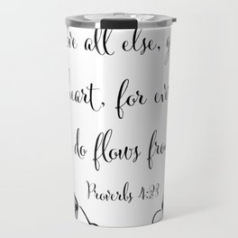 Guard Your Heart Travel Mug