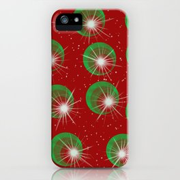 Sparkly Christmas Balls iPhone Case