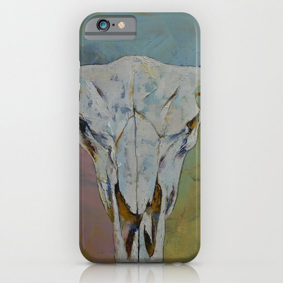 Bison Skull iPhone & iPod Case