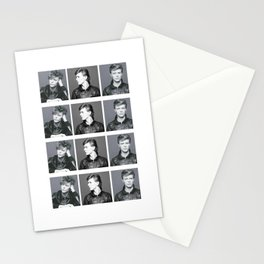 Monochrome Magnificence: Bowie Stationery Cards