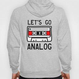 LET'S GO ANALOG - Cassette Hoody