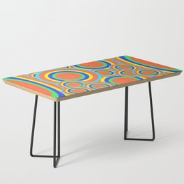 Mod - Colorful Circles Coffee Table