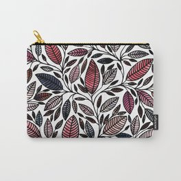 Floral Illustration - Leaf - No*48 Carry-All Pouch